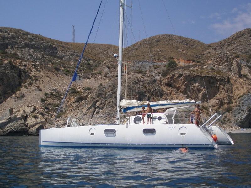 catamaran de voyage
