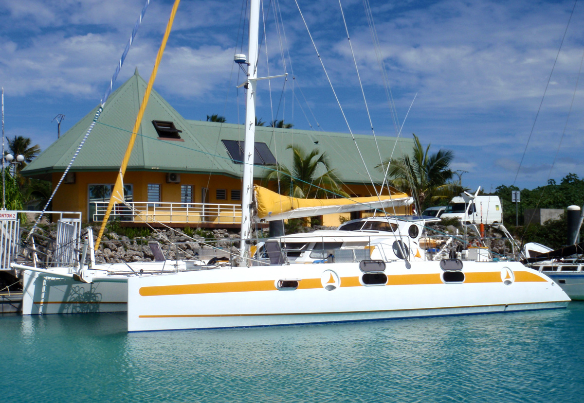 Catamaran De Voyage Voyage Autour Du Monde